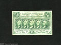 Fractional Currency:First Issue, Fr. 1312 50c First Issue Choice New. This is an intriguing note that has four enormous margins as well as bold green inks an...
