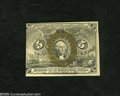 Fractional Currency:Second Issue, Fr. 1233 5c Second Issue New. A tightly margined second issue note with some light glue removal on the back sides but which ...