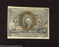 Fractional Currency:Second Issue, Fr. 1286 25c Second Issue Choice New. Three plentiful margins and an adequate fourth are found on this scarce variety that h...