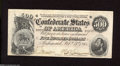 Confederate Notes:1864 Issues, T64 $500 1864. A center fold and a thin corner fold are found on this $500. About Uncirculated....