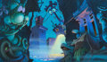 Animation Art:Concept Art, Who Framed Roger Rabbit Toontown Concept Art by Ron Dias(Touchstone/Amblin, 1988)....