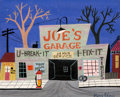 Animation Art:Concept Art, Mary Blair Susie the Little Blue Coupe Concept Art (WaltDisney, 1952)....