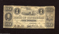 Obsoletes By State:Ohio, Cincinnati, OH- Bank of Cincinnati $1 May 1, 1841 It has been overfour years since we had a note from this colorful bank t...