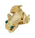 Estate Jewelry:Rings, Chrysoprase, Gold Ring, Kurt Wayne. ...