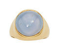 Estate Jewelry:Rings, Gentleman's Star Sapphire, Gold Ring. ...