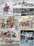 Original Comic Art:Panel Pages, André Juillard Les sept vies de l'Epervier T.12 : Quinze ansaprès Planche 28 (Dargaud, 2014).... (Total: 2 Original Art)