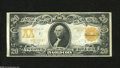Large Size:Gold Certificates, Fr. 1185 $20 1906 Gold Certificate Very Fine. This colorful Gold Twenty exhibits nice contrasts with a very colorful back, b...