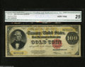 Large Size:Gold Certificates, Fr. 1215 $100 1922 Gold Certificate CGA Very Fine 25. As the collector base grows, better Friedberg numbers are becoming sca...