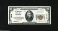 National Bank Notes:Colorado, Denver, CO - $20 1929 Ty. 1 The United States NB Ch. # 7408 ThisColorado Twenty has all the embossing and color one co...