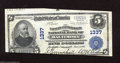 National Bank Notes:Maryland, Baltimore, MD - $5 1902 Plain Back Fr. 598 The Farmers &Merchants NB Ch. # 1337 Cut quite badly, enough so that it mig...