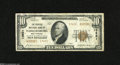National Bank Notes:West Virginia, Parkersburg, WV - $10 1929 Ty. 2 The Peoples NB Ch. # 13621 The colors are pleasing on this note with only 13 small si...