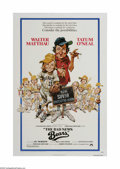 "Movie Posters:Sports, The Bad News Bears (Paramount, 1976). One Sheet (27"" X 41""). Offered here is a vintage, theater-used poster for this comedy ..."