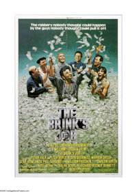 """The Brink's Job (Universal, 1978). One Sheet (27"""" X 41""""). Offered here is a vintage, theater-used poster for t..."""