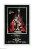 "Movie Posters:Action, Conan the Barbarian (Universal, 1982). One Sheet (27"" X 41"").Offered here is a vintage, theater -used poster for this fanta..."