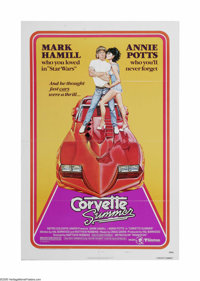 """Corvette Summer (MGM, 1978). One Sheet (27"""" X 41""""). Offered here is a vintage, theater-used poster for this ad..."""