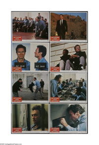 "Escape from Alcatraz (Paramount, 1979). Lobby Card Set of 8 (11"" X 14""). Offered here is an original theater-u..."