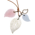 Estate Jewelry:Necklaces, Diamond, Mother-of-Pearl, Chalcedony, Gold Necklace, Tamara Comolli. ...
