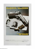 "Movie Posters:Action, The Getaway (Warner Brothers, 1972). One Sheet (27"" X 41""). Offered here is a vintage, theater-used poster for this crime/dr..."