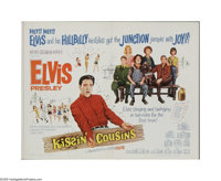 """Kissin' Cousins (MGM, 1964). Half Sheet (22"""" X 28""""). Offered here is a vintage, theater-used poster for this m..."""