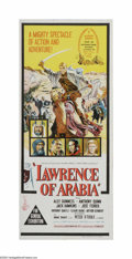 "Movie Posters:Academy Award Winner, Lawrence of Arabia (Columbia, 1962). Australian Daybill (13"" X30""). Offered here is a vintage, theater-used poster for this..."