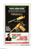 "Movie Posters:Action, Man With the Golden Gun, The (United Artists, 1974). Advance OneSheet (27"" X 41""). Offered here is a theater-used advance C..."