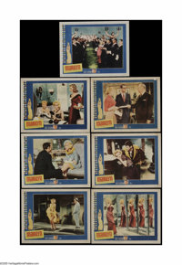 """Marilyn (20th Century Fox, 1963). Lobby Cards (7) (11"""" X 14""""). These are vintage, theater-used lobby cards for..."""