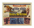 "Movie Posters:Adventure, River of No Return (Twentieth Century Fox, 1954). Lobby Card Set of8 (11"" X 14""). Otto Preminger directed Marilyn Monroe an... (8items)"