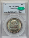 Commemorative Silver, 1892 50C Columbian MS66 PCGS. CAC. PCGS Population: (285/34). NGC Census: (219/36). MS66. Mintage 950,000. ...