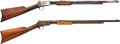 Long Guns:Slide Action, Lot of Two Winchester Model 1890 Slide Action Rifles.... (Total: 2Items)