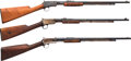 Long Guns:Slide Action, Lot of Three Winchester Model 62A Slide Action Rifles.... (Total: 3Items)