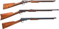 Long Guns:Slide Action, Lot of Three Winchester Slide Action Rifles.... (Total: 3 Items)