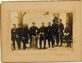 Photography:Cabinet Photos, Silver Print of General George B. McClellan and His Staff....