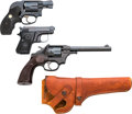 Handguns:Double Action Revolver, Lot of Three Modern Handguns.... (Total: 3 Items)