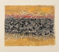 Fine Art - Work on Paper:Print, Mark Tobey (1890-1976). Sonata, 1975. Serigraph in colors on Japon paper. 16-3/4 x 19-1/2 inches (42.5 x 49.5 cm) (image...