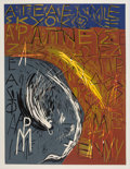 Prints & Multiples, Mimmo Paladino (b. 1948). Untitled, from Official Arts Portfolio of the XXIVth Olympiad, Seoul, Korea, 1988. Linocut...