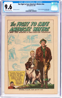 The Fight to Save America's Waters nn (Hall Syndicate, 1956) CGC NM+ 9.6 Off-white to white pages