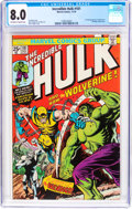 Bronze Age (1970-1979):Superhero, The Incredible Hulk #181 (Marvel, 1974) CGC VF 8.0 Off-white to white pages....