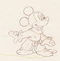 Animation Art:Production Drawing, Fantasia Mickey Mouse as the Sorcerer's Apprentice Animation Drawing (Walt Disney, 1940)....