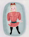 Animation Art:Production Drawing, Mary Blair So Dear to My Heart Tildy Costume Design Painting (Walt Disney, 1949)....
