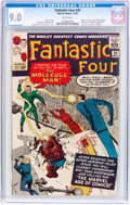Silver Age (1956-1969):Superhero, Fantastic Four #20 (Marvel, 1963) CGC VF/NM 9.0 White pages....