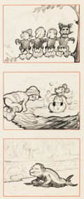 Animation Art:Concept Art, The Hollywoods Concept Drawings (Walt Disney, c. 1935)....