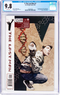 Y: The Last Man #1 (DC/Vertigo, 2002) CGC NM/MT 9.8 White pages