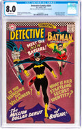 Silver Age (1956-1969):Superhero, Detective Comics #359 (DC, 1967) CGC VF 8.0 Off-white pages....