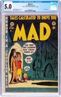 Golden Age (1938-1955):Humor, MAD #1 (EC, 1952) CGC VG/FN 5.0 Cream to off-white pages....