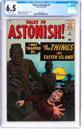 Silver Age (1956-1969):Horror, Tales to Astonish #5 (Marvel, 1959) CGC FN+ 6.5 Off-white pages....