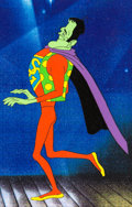 "Animation Art:Production Cel, Groovie Ghoulies Frankie as ""Super Ghoul"" Production Cel(Filmation, 1970)...."