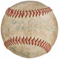 "Autographs:Bats, Mickey Mantle ""Best Wishes"" Signed Baseball. . ..."