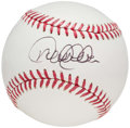 Autographs:Baseballs, Derek Jeter Single Signed Baseball.. ...
