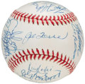 Autographs:Baseballs, 1999 New York Yankees, World Series Champs, Team Signed Baseball (29 Signatures).. ...