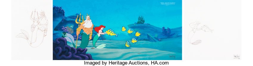 Animation ArtPresentation Cel The Little Mermaid II Return To Sea Presentation